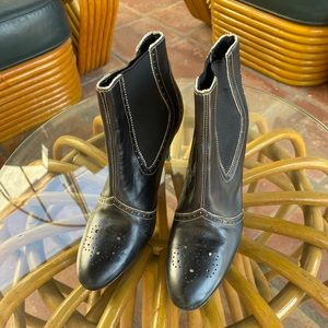 "Shoes - Circa Joan & David ""CJ Donato"" black bootie Sz 7"